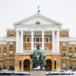 Bascom Hall in the winter