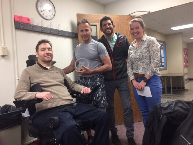 Photo of Mike Mohr, Tim Gattenby, Ruben Mota, Heather Stelljes