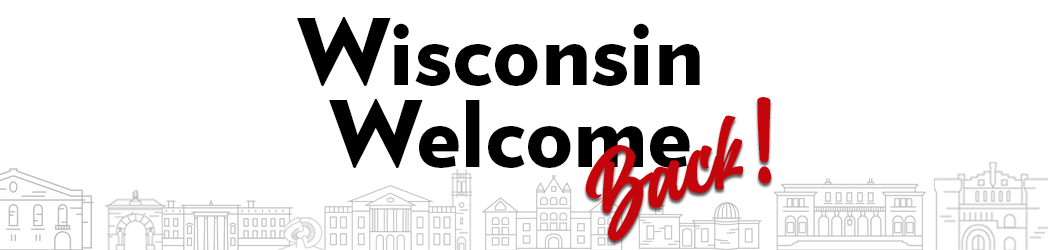 Logo: Wisconsin Welcome Back