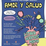 Latinx Heritage Month event poster